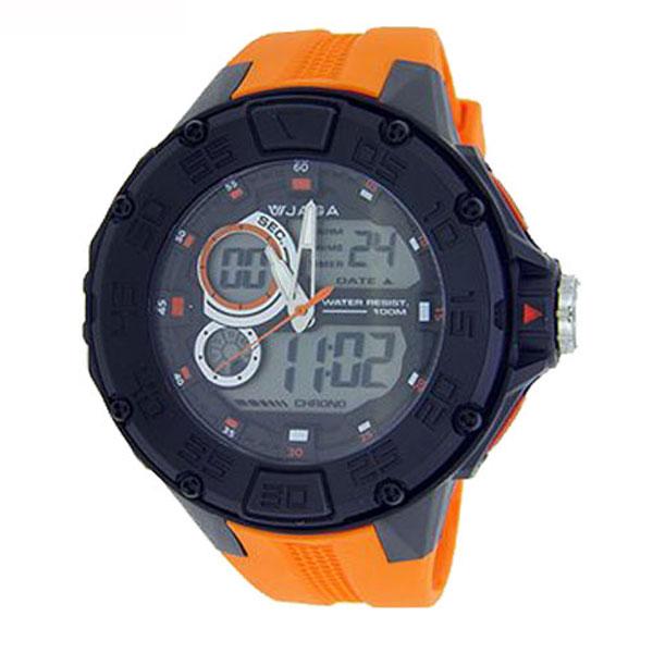 Ρολόι JAGA AD1063 Πορτοκαλί