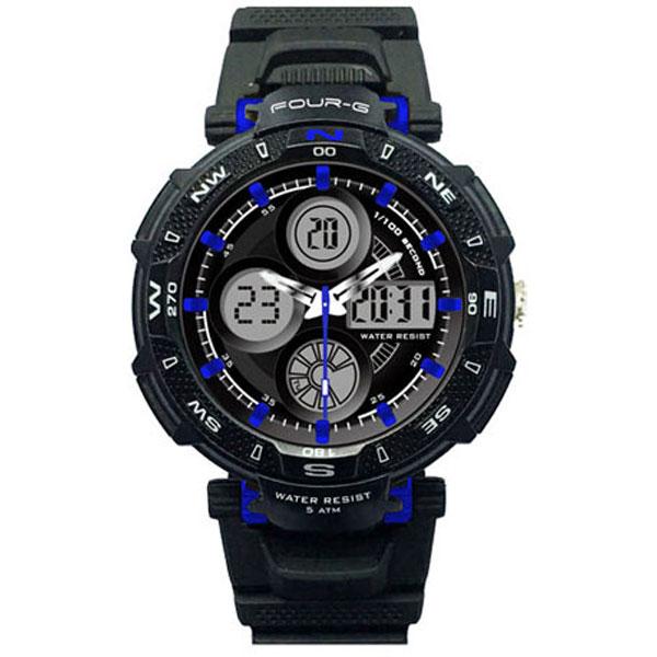 Ρολόι FOURG AD57F-ΜΠΛΕ