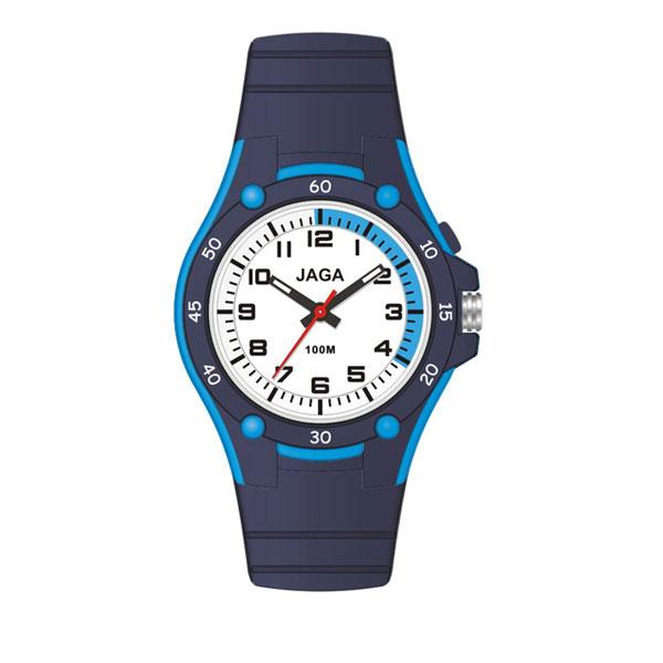 Ρολόι JAGA AQ405-ΜΠΛΕ