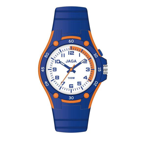 Ρολόι JAGA AQ405-ΠΟΡΤΟΚΑΛΙ